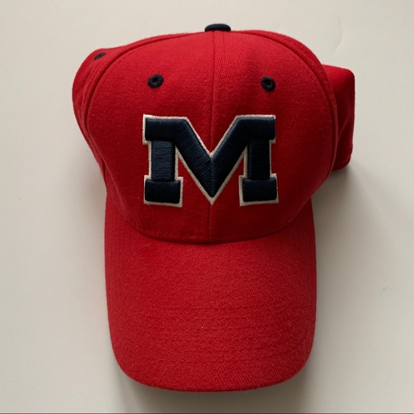 Top of the World Other - Ole Miss red baseball cap one fit
